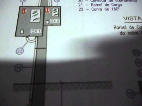 (ELETRICIDADE)PADRÃO DE ENTRADA DE ENERGIA ELETRICA EM SC (VIDEO 2)