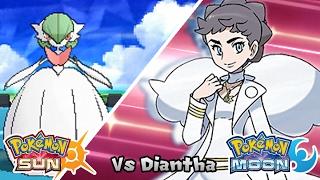 getlinkyoutube.com-Pokémon Champion Title Challenge 34: Diantha (Game Edited)