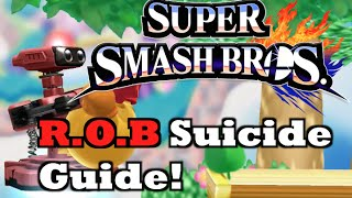 getlinkyoutube.com-Smash 4 Wii U - ROB Suicide Tech Guide