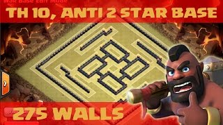 getlinkyoutube.com-clash of clans - Anti 2 star, war base / cup base