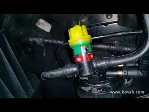 Не забывайте обращать внимание на индикатор загрязнения топливного фильтра на Ford Transit 2.4D TDCi