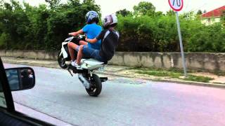 getlinkyoutube.com-Yamaha Aerox stunt