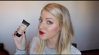 getlinkyoutube.com-NYX Stay Matte but Not Flat Foundation Review & Demo