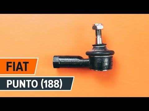 Как да сменим кормилен накрайник на напречната кормилна щанга на FIAT PUNTO ИНСТРУКЦИЯ | AUTODOC