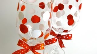 DIY | How to Make Cute Wine Glasses ღ