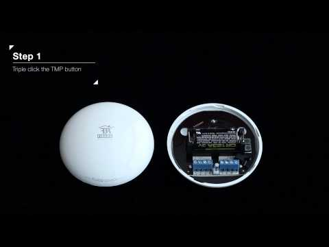 FIBARO Flood Sensor Wake up