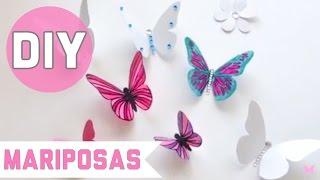 getlinkyoutube.com-DIY:Mariposas de plástico