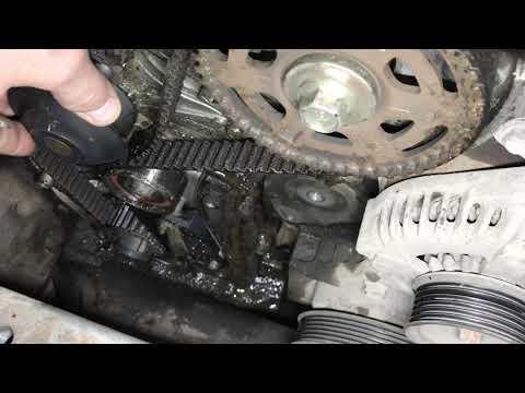 Люфт помпы J37A3 Honda Legend