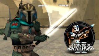 getlinkyoutube.com-Star Wars Battlefront II Mods (PC) HD: DEV's Side Mod - Bespin | Mandalorians