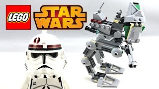 LEGO Star Wars Clone Scout Walker review and unboxing! 2005 set 7250!
