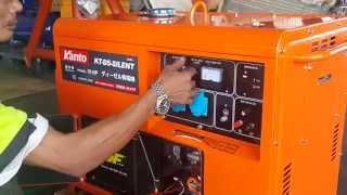 getlinkyoutube.com-วิธีการใช้งานเครื่องปั่นไฟ kanto รุ่น kt d5 silent