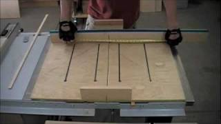 getlinkyoutube.com-Woodworking - How to Make a Dado Sled for Table Saw