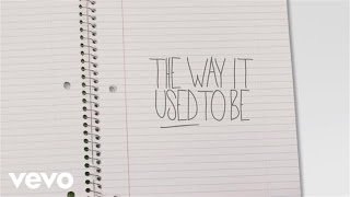 Mike Posner - The Way It Used To Be (Lyric Video)