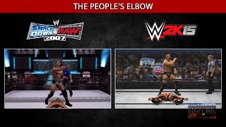 getlinkyoutube.com-The Evolution (?) of WWE Games Moves Animations