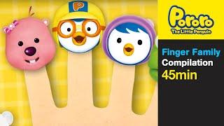 getlinkyoutube.com-[Pororo Nursery Rhymes] Finger Family and More (45min)