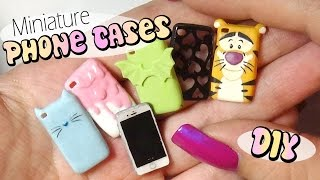 getlinkyoutube.com-Cute & Easy Miniature Phone Case Tutorial // Doll/Dollhouse