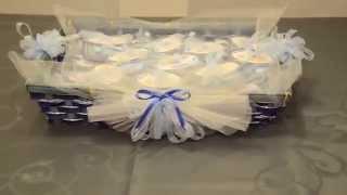 getlinkyoutube.com-Bomboniera  battesimo....fai da te...
