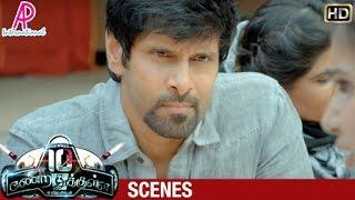 getlinkyoutube.com-10 Endrathukulla Tamil Movie | Scenes | Vikram tries to learn the truth about Rahul Dev | Samantha