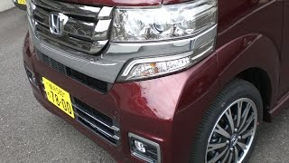 getlinkyoutube.com-ホンダN-BOX Custom G・ターボLパッケージ(2015マイナーチェンジ)試乗車撮影!