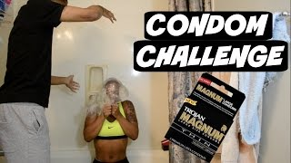 getlinkyoutube.com-CONDOM CHALLENGE