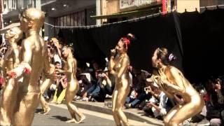 getlinkyoutube.com-第35回大須大道町人祭・金粉ショー20121013