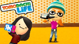 getlinkyoutube.com-Tomodachi Life 3DS Splatoon Mii Inkling Girl, Creeper's B-Day Gameplay Walkthrough PART 52 Nintendo
