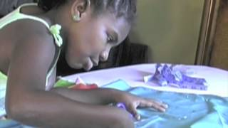 getlinkyoutube.com-7 Year Old Fashion Designer, Trinitee Stokes