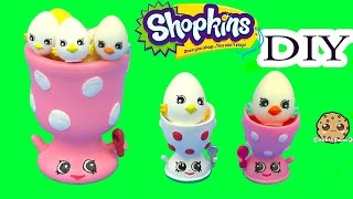 getlinkyoutube.com-DIY Shopkins Season 4 Edgar Egg Cup Do It Yourself Eggcup Craft Video Cookieswirlc