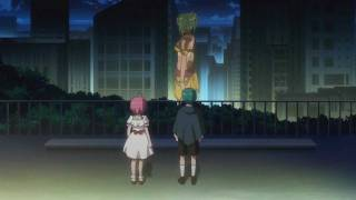 getlinkyoutube.com-Giantess Linda | Rio: Rainbow Gate! Episode 14 | Giantess in Anime [1080p]