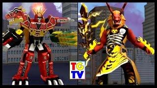 getlinkyoutube.com-Power Rangers Dino Charge Rumble Game Stage 6 (Battles Edited)
