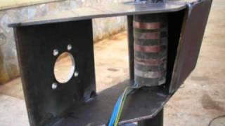 getlinkyoutube.com-Aerogenerador eolico de 4800w de fabricacion casera
