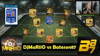 getlinkyoutube.com-FIFA 15 | Bateson87 vs DjMaRiiO | WAGER MATCH LAHM TOTY | Ultimate Team