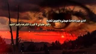 قسوة الايام كلمات مدغم ابو شيبه اداء صالح الزهيري