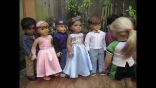 getlinkyoutube.com-Prom!-- AmericanGirl doll stop motion