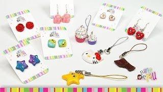 getlinkyoutube.com-(PART 1) Cold porcelain jewelry / (PARTE 1) Accesorios de porcelana fría