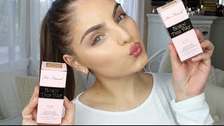 getlinkyoutube.com-Too Faced Born This Way Foundation First Impressions & Demo ♡