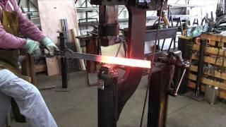 getlinkyoutube.com-The Serpent in the Sword: Forging a Viking-age Sword