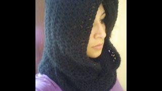 Cómo tejer una Capucha estilo Palestina  Crochet  fácil! Puedes hacer negocio Checaa!