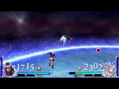 Dissidia 012: Duodecim Final Fantasy - Prishe VS Cloud of Darkness Gameplay
