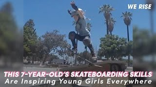 This 7-Year-Old's Skateboarding Skills Are Inspiring Young Girls Everywhere