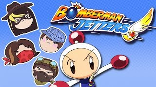 getlinkyoutube.com-Bomberman Jetters - Steam Rolled