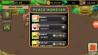 getlinkyoutube.com-My Singing Monsters - Powering Up 2nd Rare Wubbox on Gold Island! :D