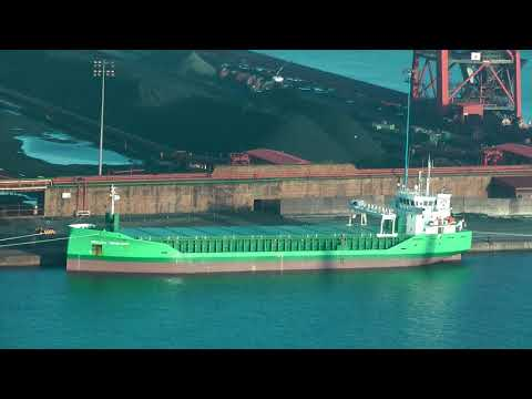 Click to view video ARKLOW VANGUARD IMO 9772577 PDAY NETHERLANDS GIJON HD