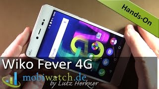 getlinkyoutube.com-Das Wiko Fever 4G mit leuchtendem Rahmen im Video-Test