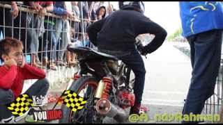 getlinkyoutube.com-EKO KODOK drag racing drag bike  2 tak MCM kebumen