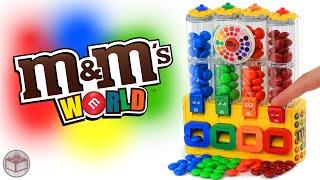 getlinkyoutube.com-LEGO M&M's Chocolate Candy Machine