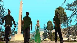 getlinkyoutube.com-Elsa and Anna in Los Santos !!!(GTA SA Frozen parody)