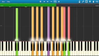 getlinkyoutube.com-Pink Floyd - Shine on You Crazy Diamond Piano Tutorial - Synthesia - How to play