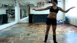 getlinkyoutube.com-Danaya bellydance lesson.Танец живота .Связки.Даная.MPG