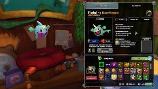 getlinkyoutube.com-Dungeon Defenders 2: November Monthly Pet Narwhagon Ability Showcase!!
